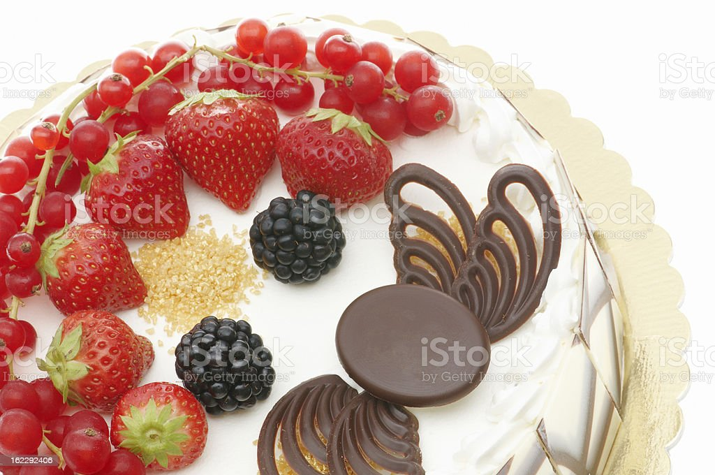 Decorated Cake royalty-free stock photo