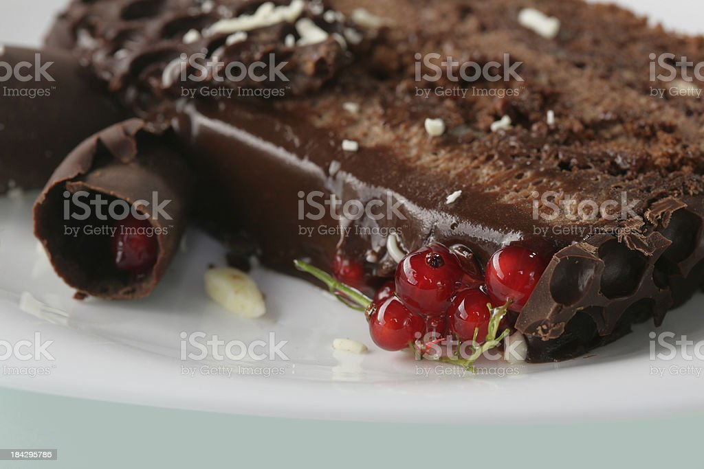 Decorated cake royalty-free stock photo