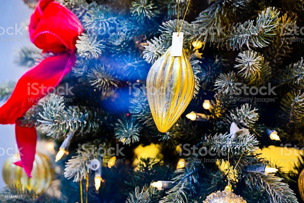 Decorated Christmas Tree royalty-free stock photo