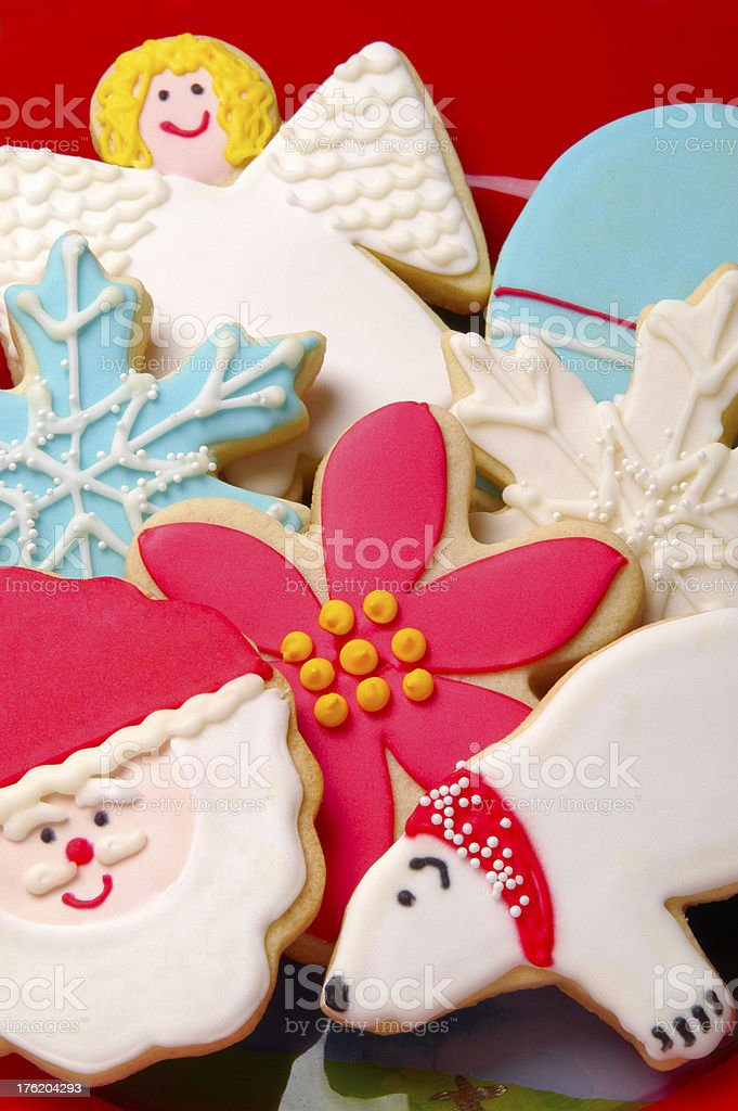 Decorated Cookies royalty-free stock photo