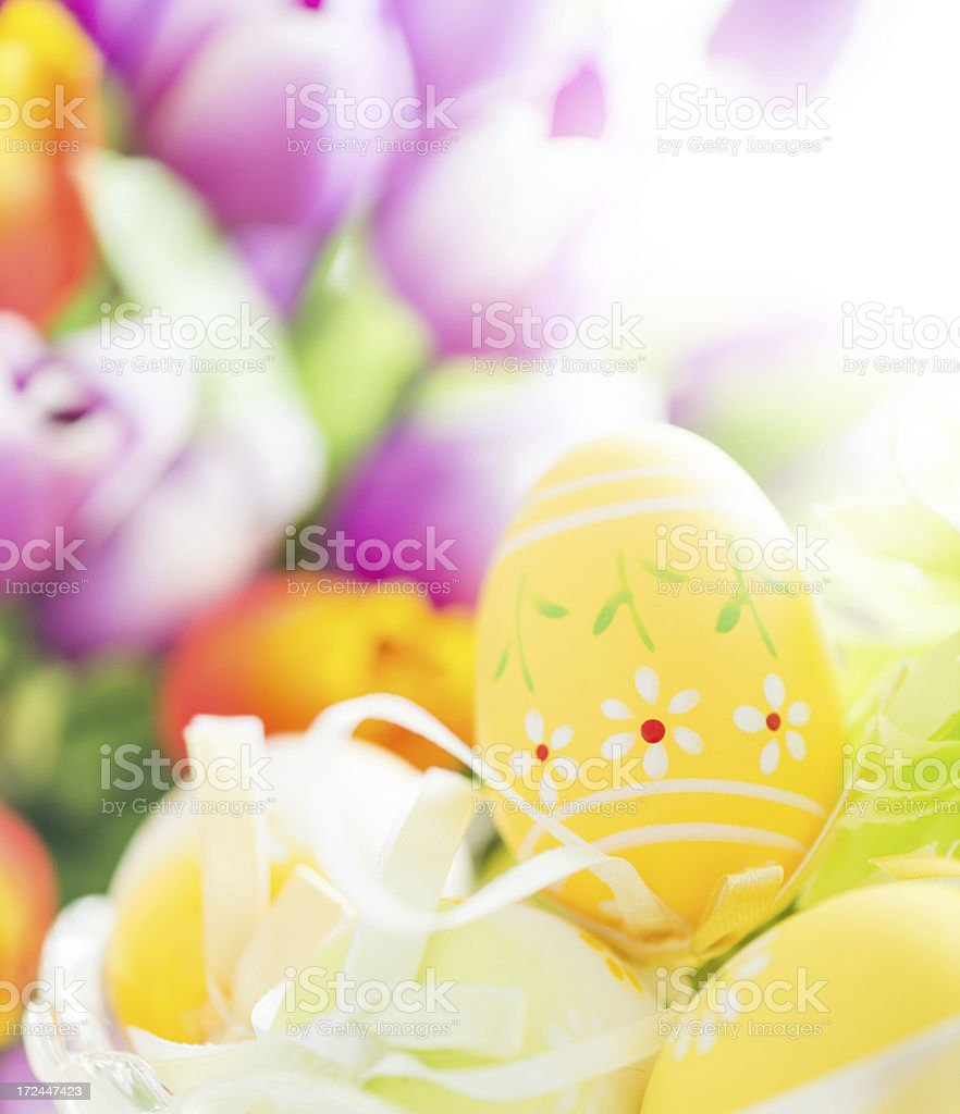 Decorated easter egg royalty-free stock photo