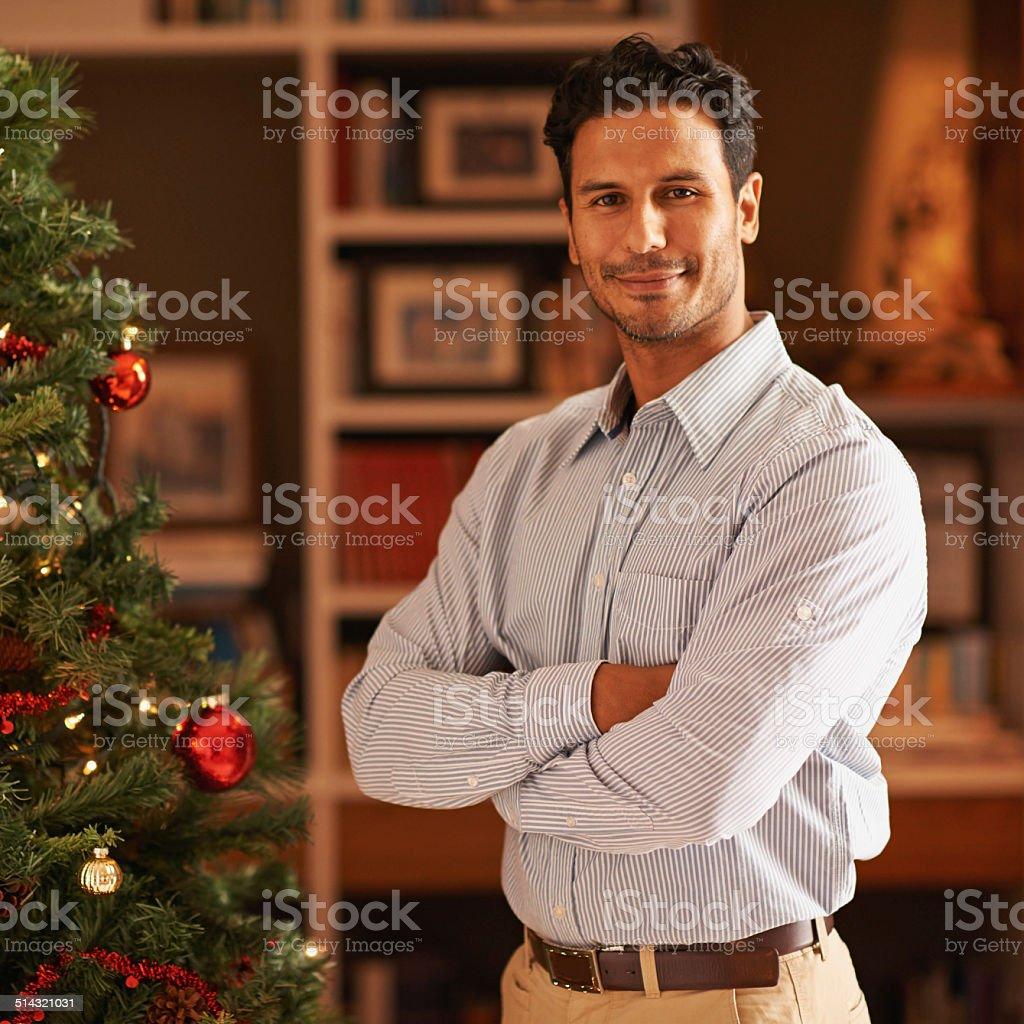 I decorated everything myself stock photo