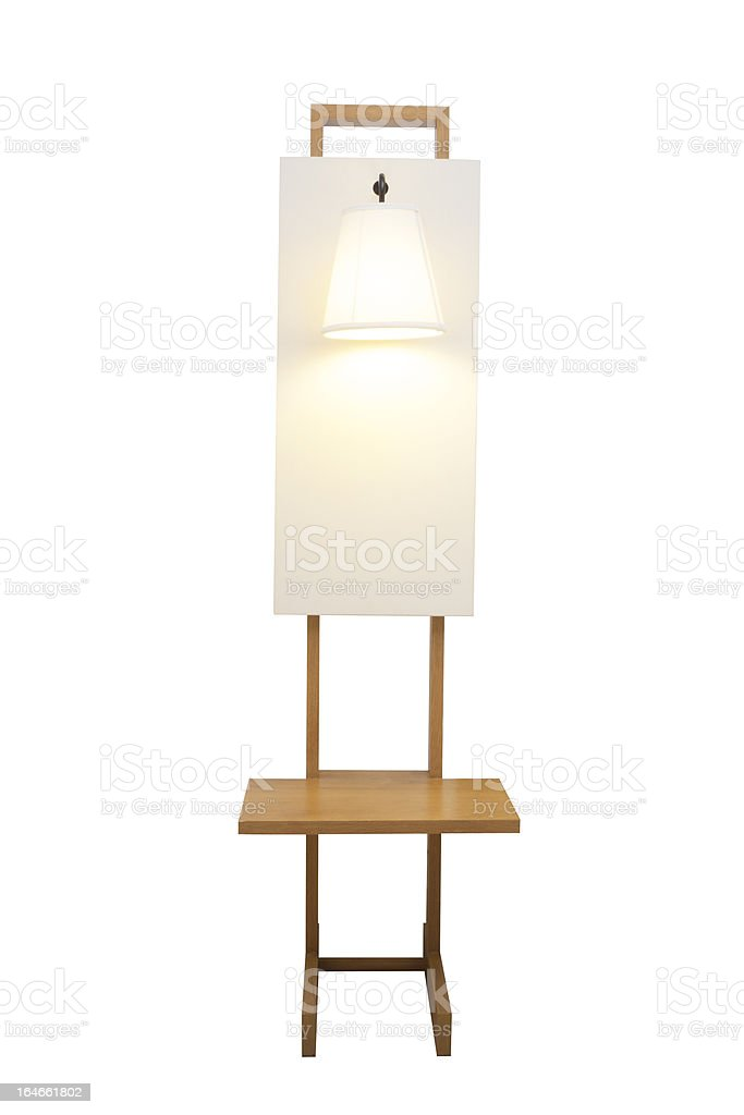 decorated lamp royalty-free stock photo