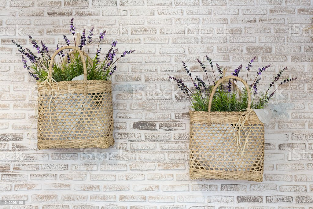 Decorated Lavender stock photo