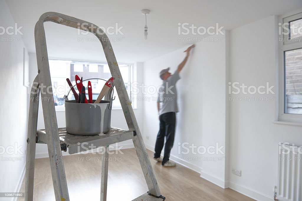 decorating stock photo