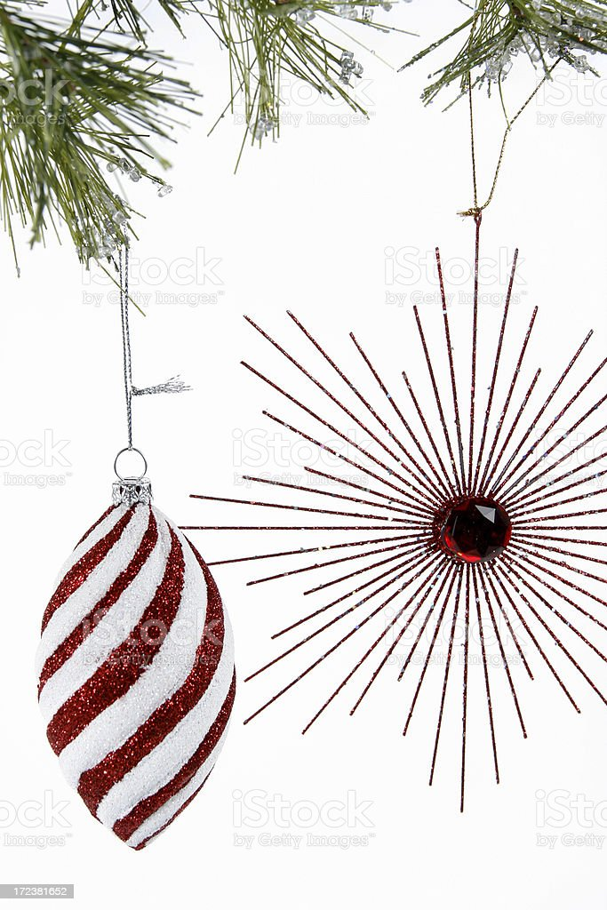 Decorating the Tree royalty-free stock photo
