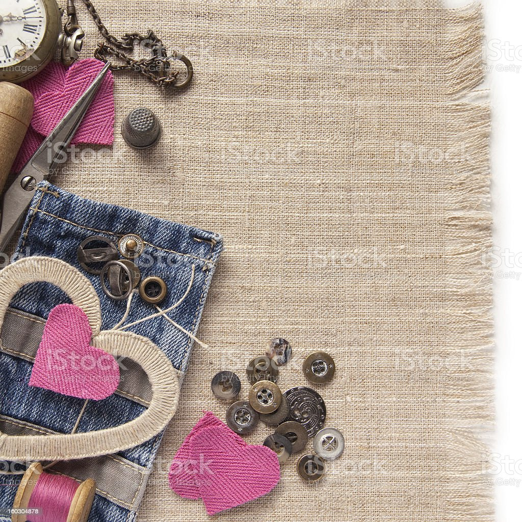Decoration for Valentine's Day royalty-free stock photo