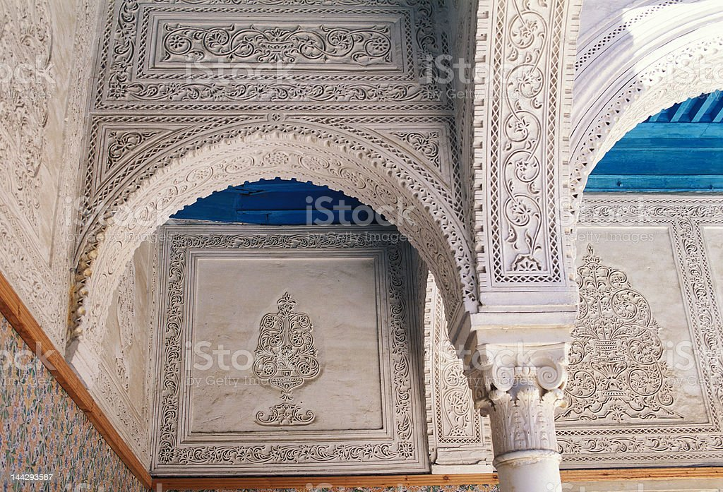 decoration in arab style royalty-free stock photo