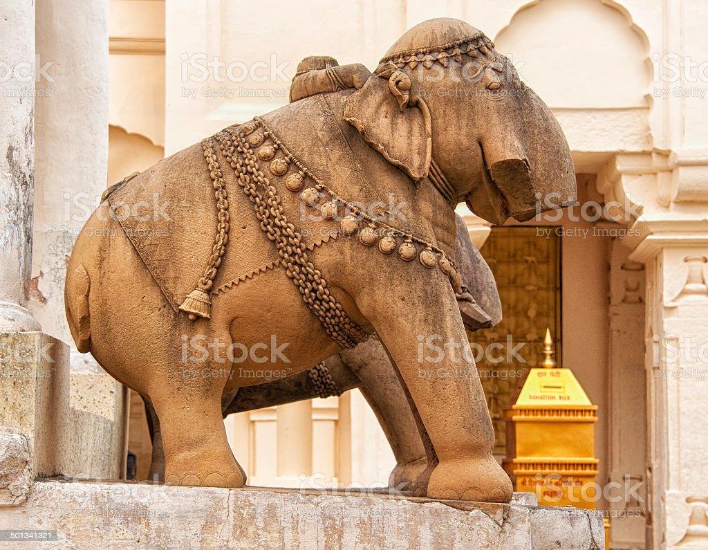 Decoration Khajuraho Temples stock photo