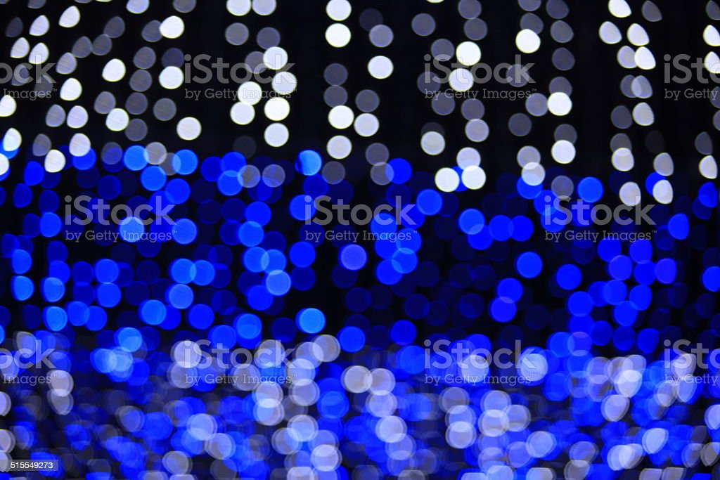 Decoration of festival bokeh background stock photo