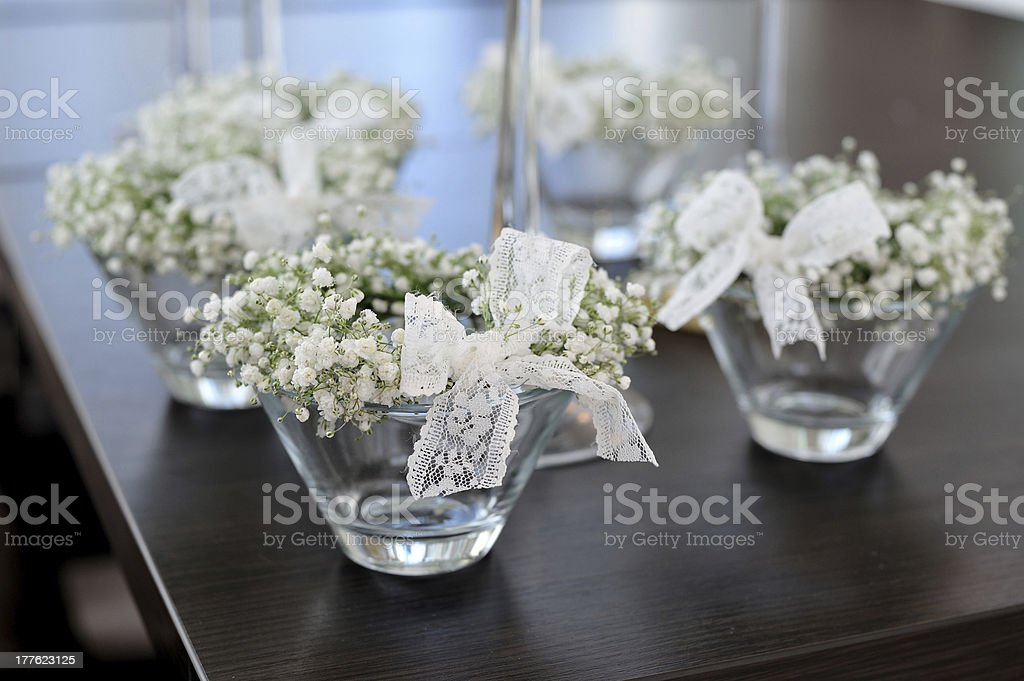 decoration of flowers royalty-free stock photo