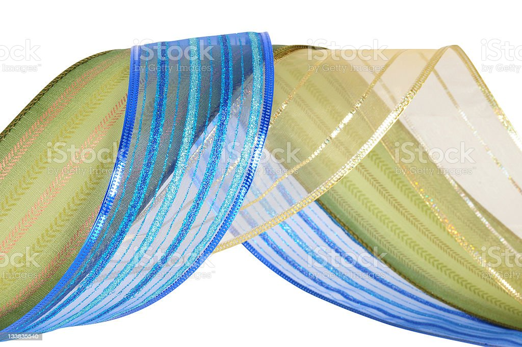 Decoration tapes. stock photo