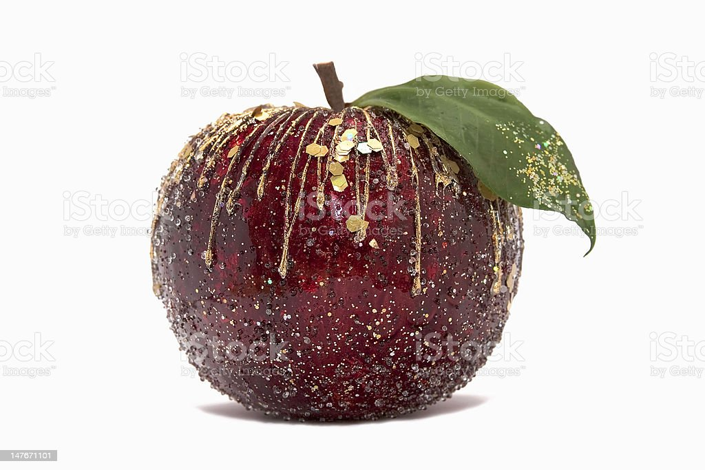 Decorative apple royalty-free stock photo