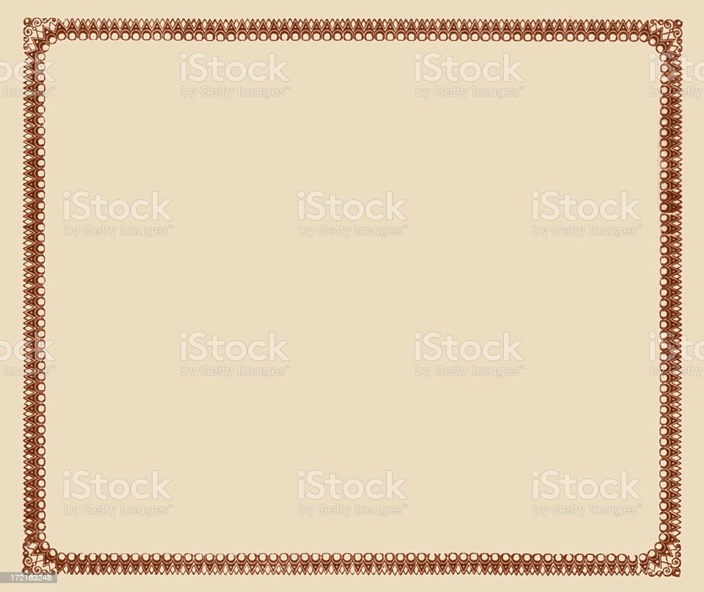 decorative border royalty-free stock photo
