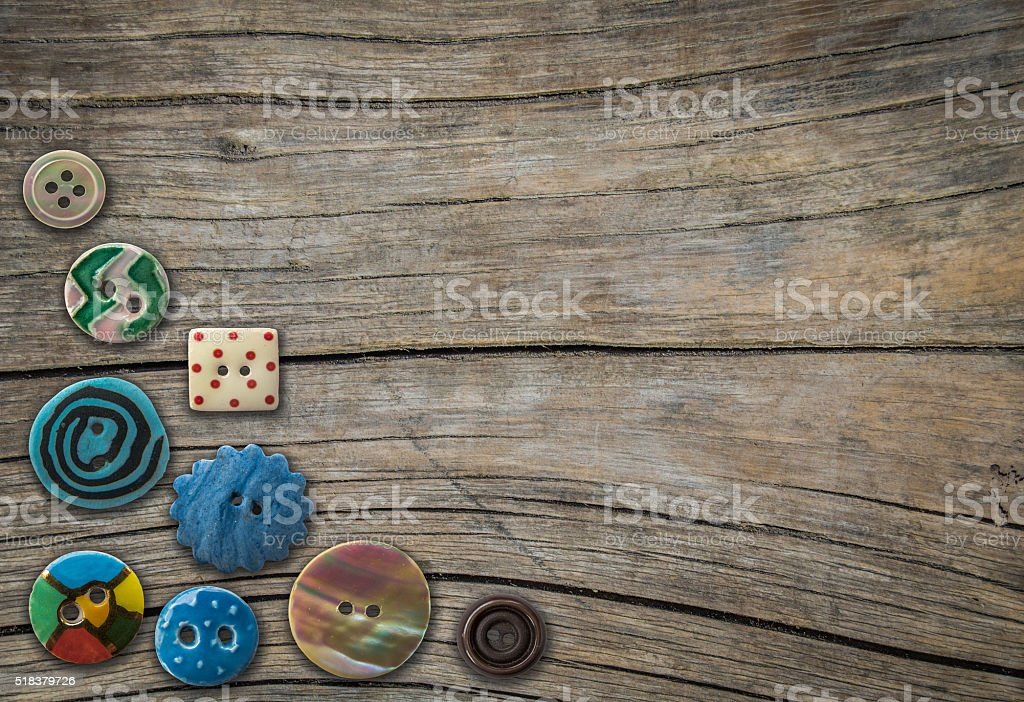 Decorative Buttons stock photo