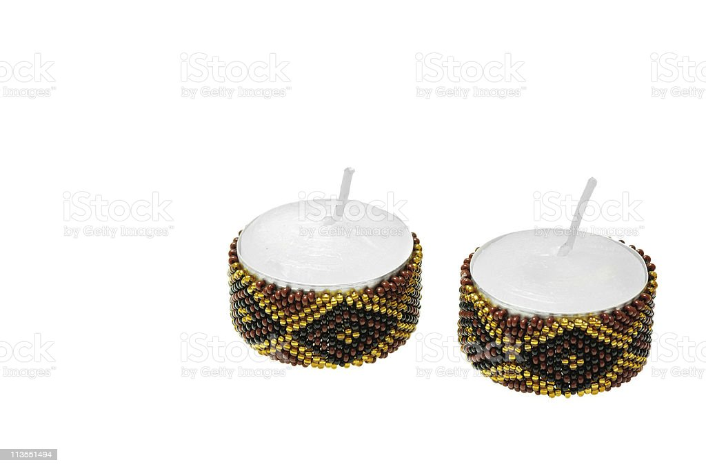 Decorative Candles royalty-free stock photo