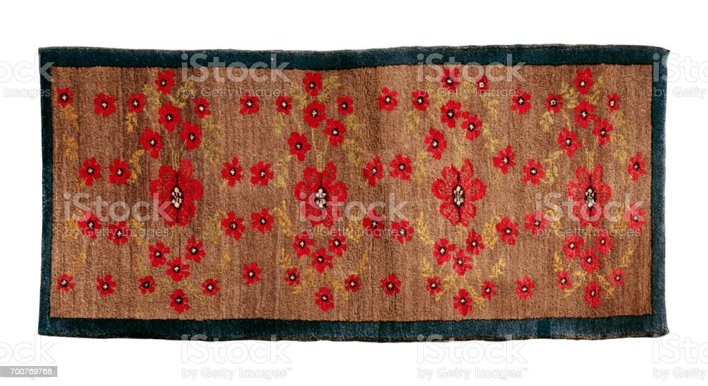 Decorative Carpet stock photo