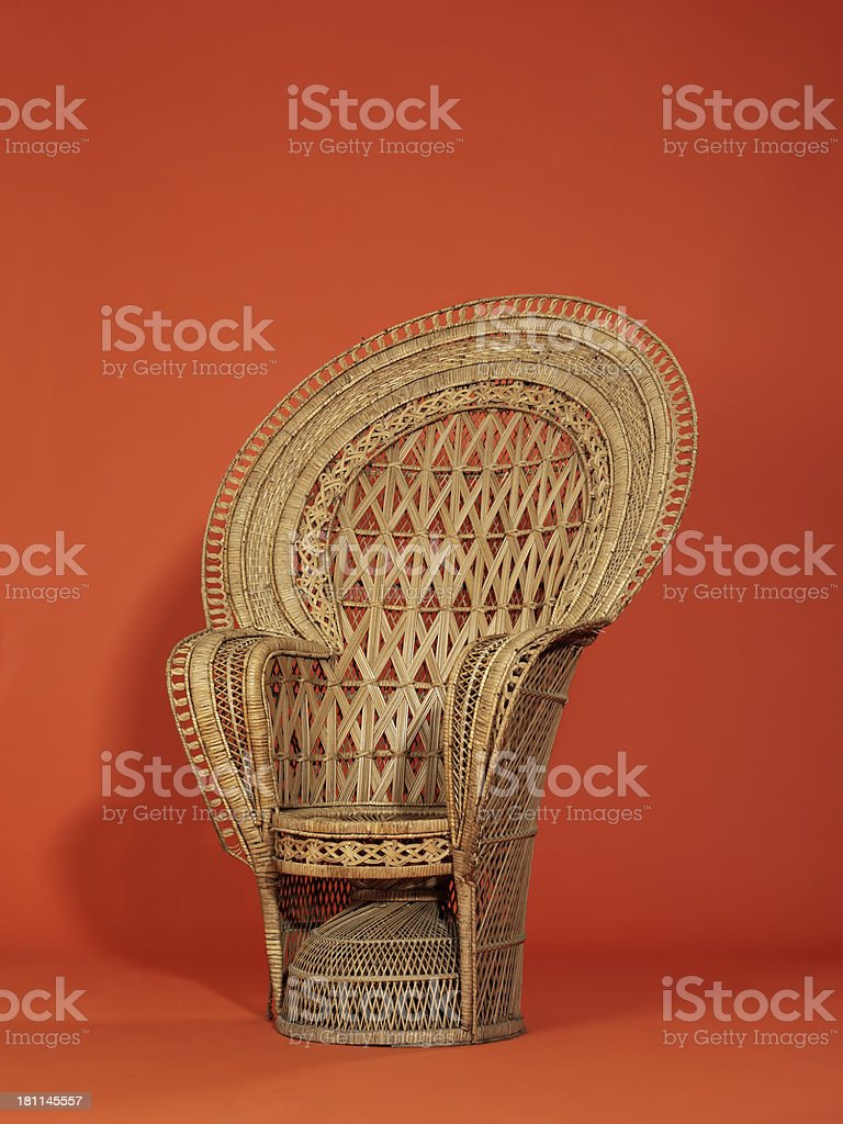 decorative chair royalty-free stock photo