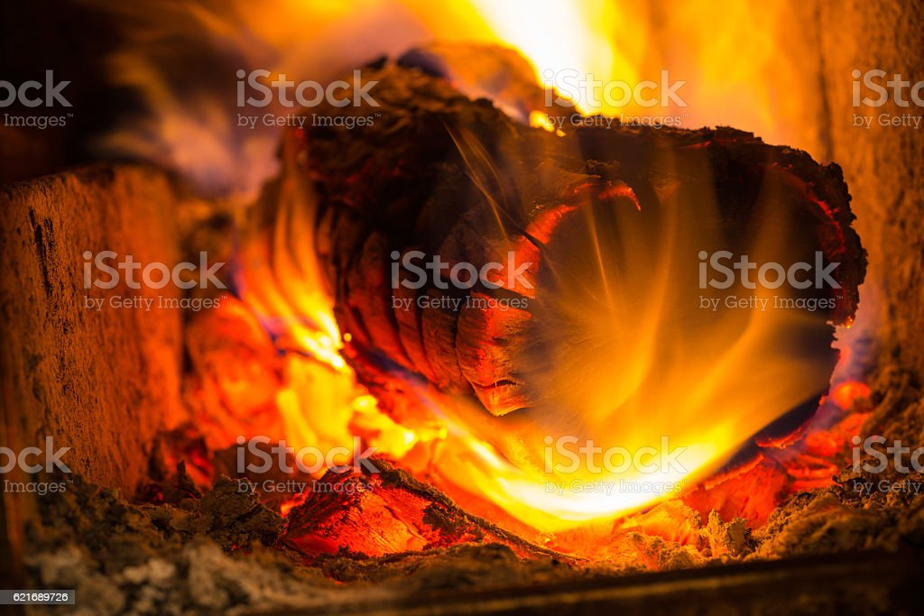 Decorative colors of fire stock photo