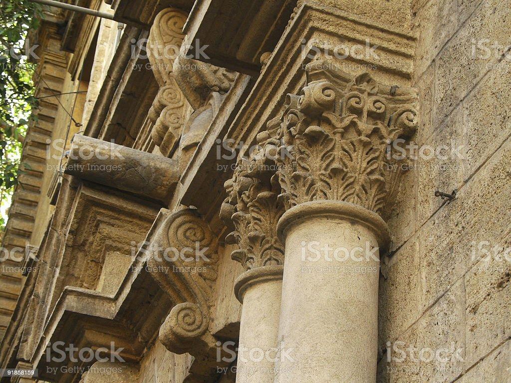 Decorative Column royalty-free stock photo