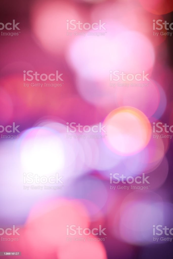 Decorative defocused purple lights royalty-free stock photo