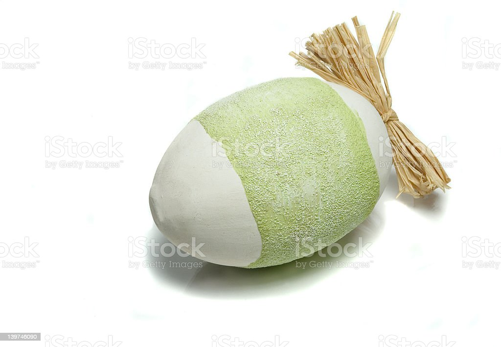 decorative easter egg royalty-free stock photo