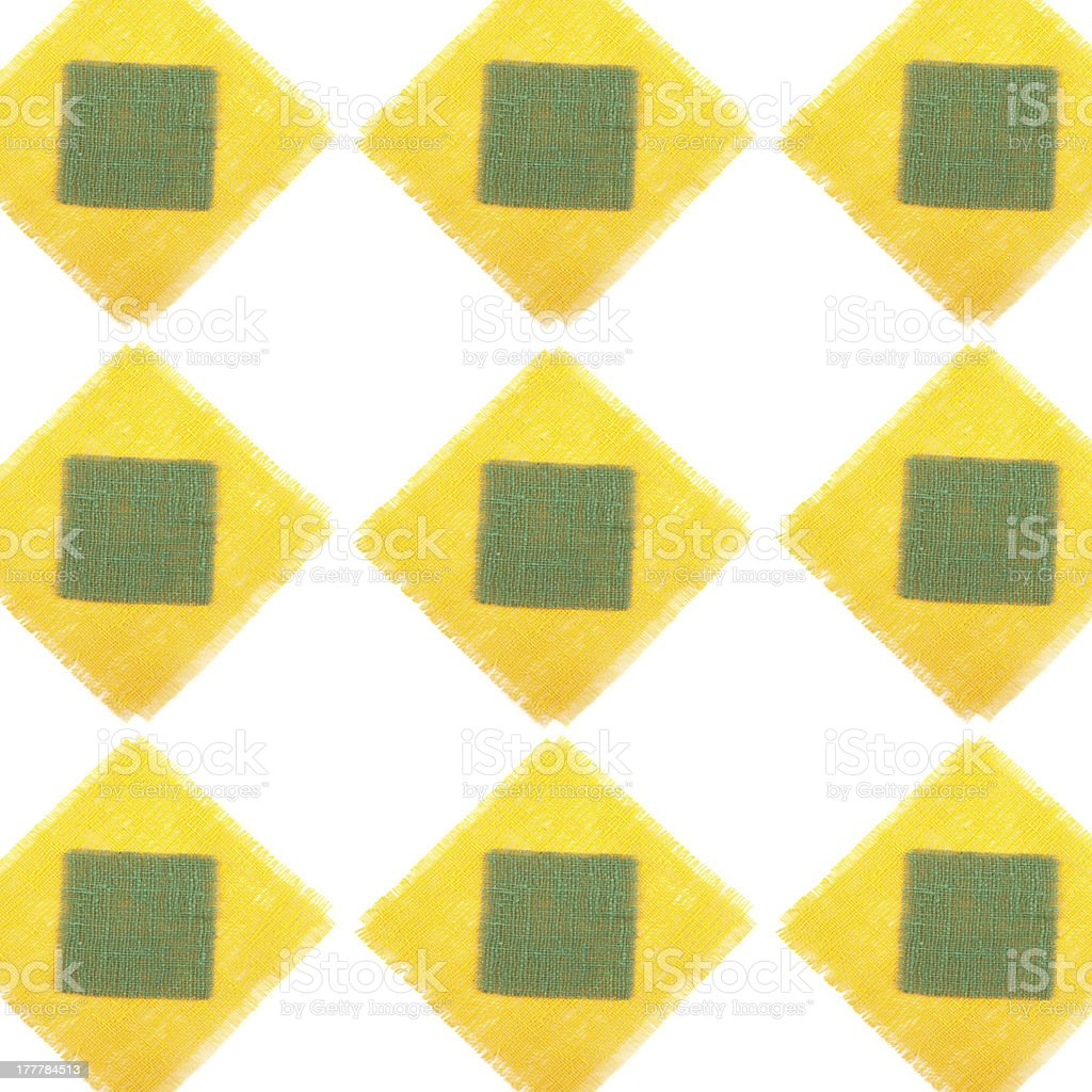 Decorative elements napkins royalty-free stock photo