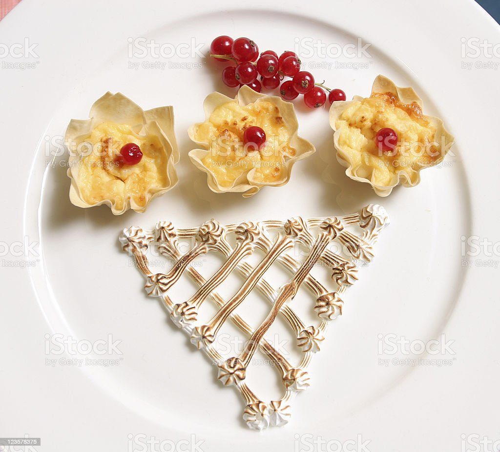 Decorative food royalty-free stock photo