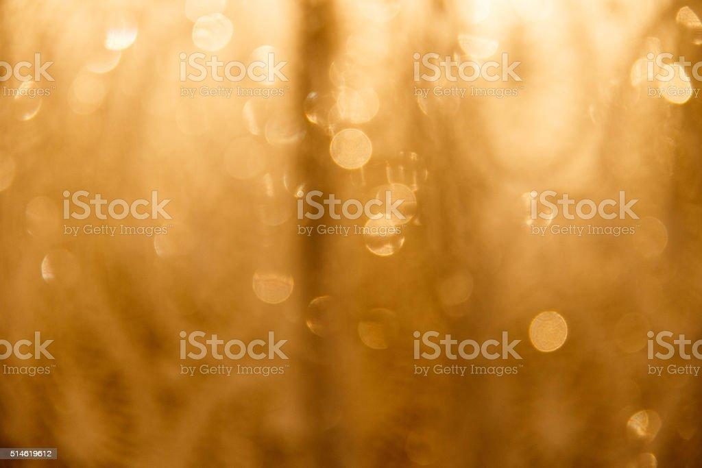 Decorative gold background stock photo