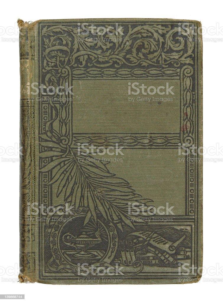 Decorative Green Book stock photo