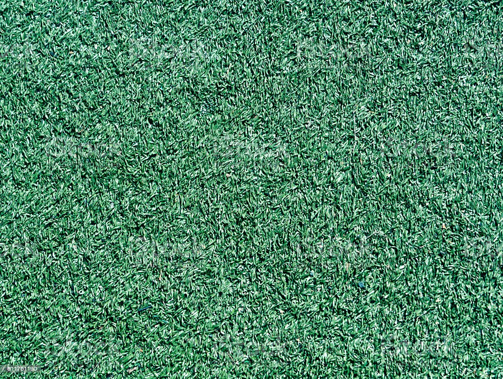 Decorative green grass loan texture. Sport and leisure. stock photo