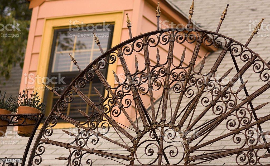 Decorative Iron Work royalty-free stock photo