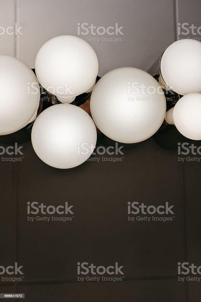 decorative lighting stock photo