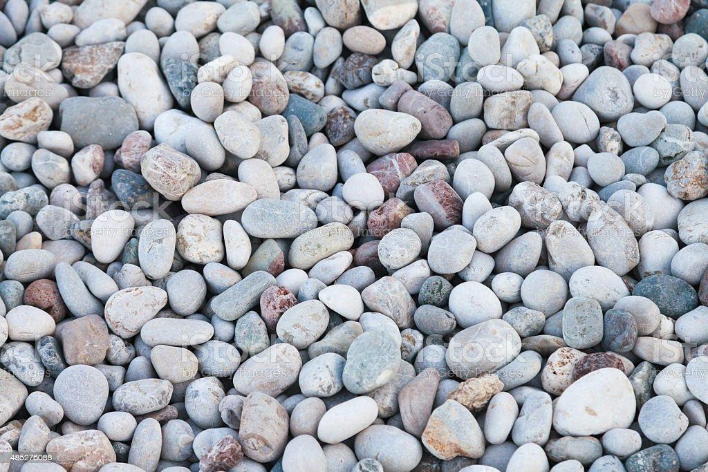 Decorative pebbles stock photo