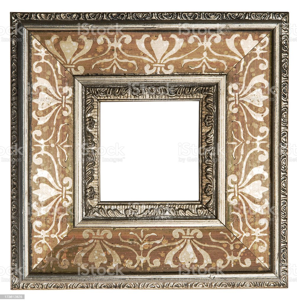 Decorative Picture Frame royalty-free stock photo