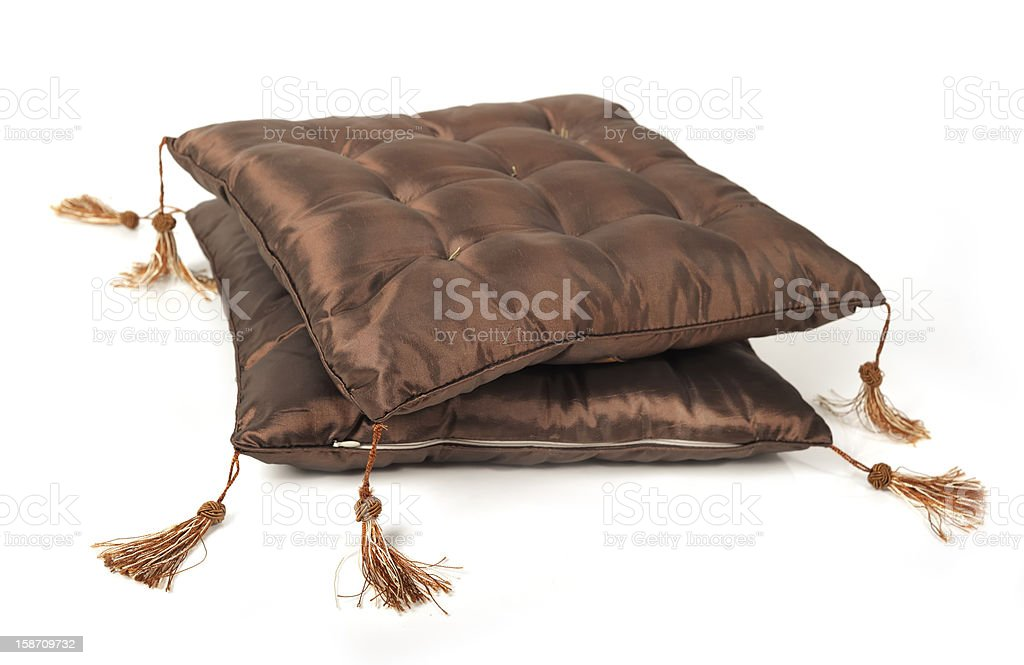 Decorative pillow royalty-free stock photo