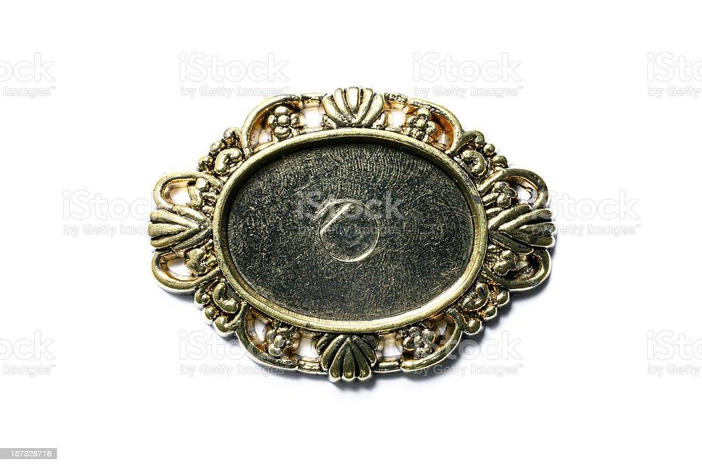 Decorative Plaque royalty-free stock photo