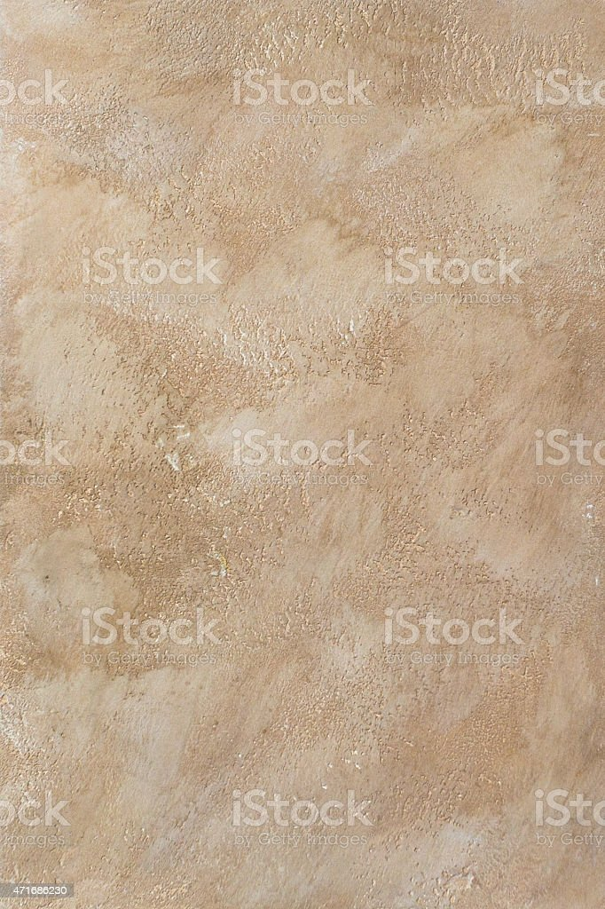 Decorative plaster stock photo