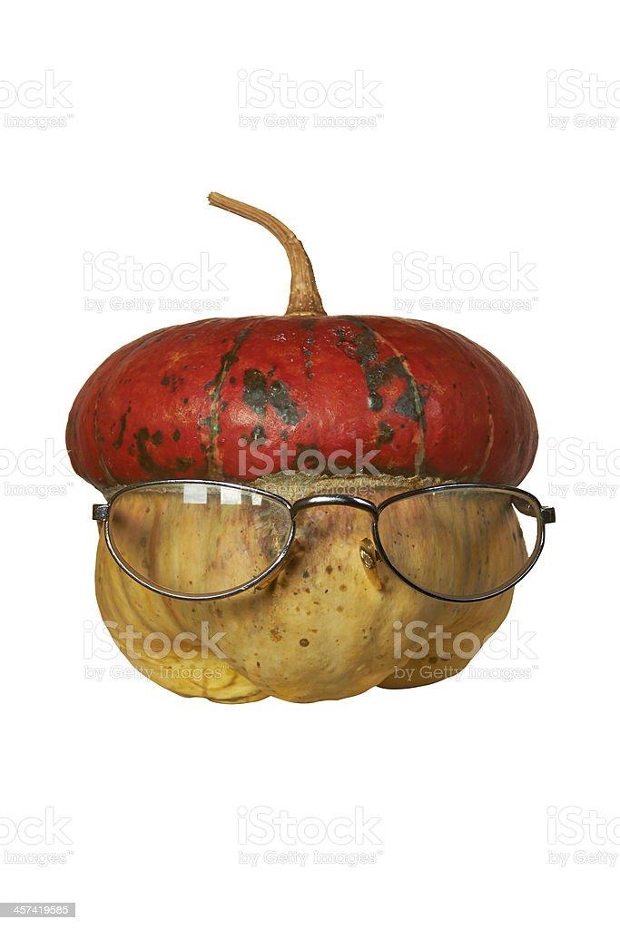 decorative pumpkin royalty-free stock photo
