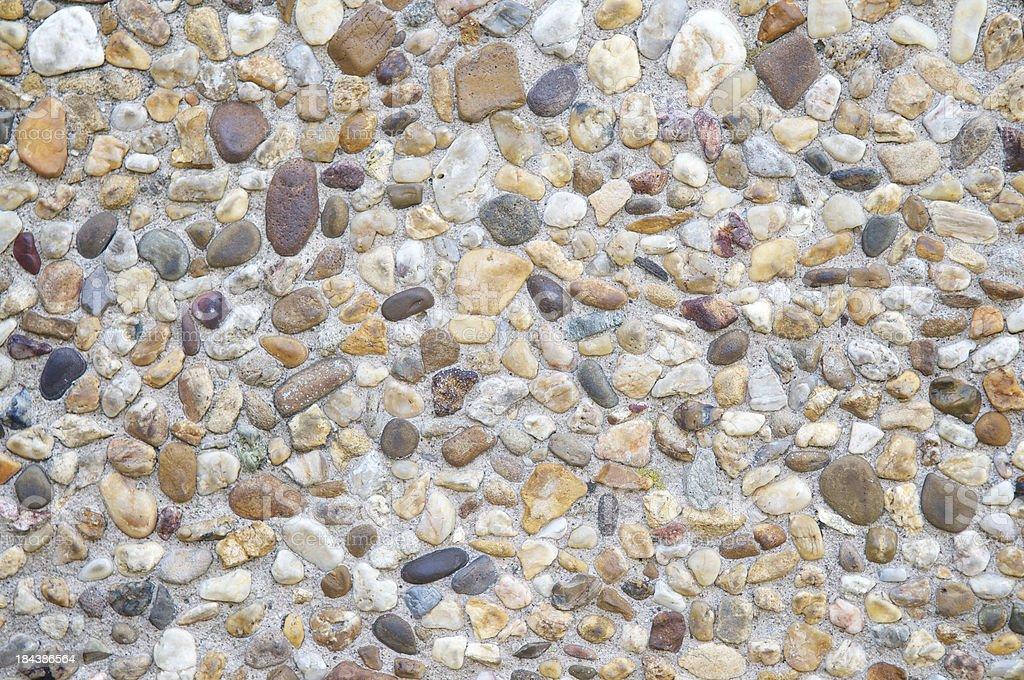 Decorative Rock Full Frame Background stock photo