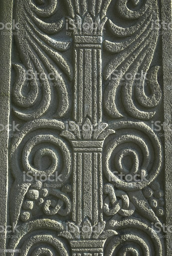 Decorative Stone stock photo
