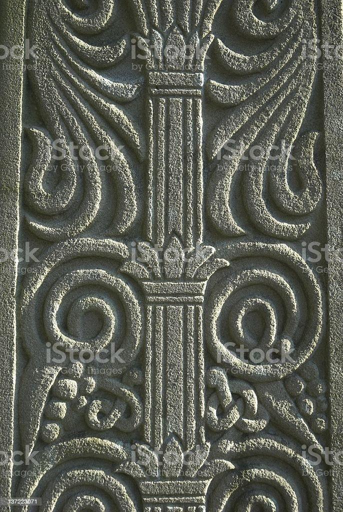 Decorative Stone stock photo