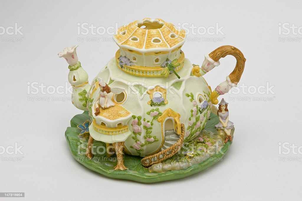 Decorative Teapot stock photo