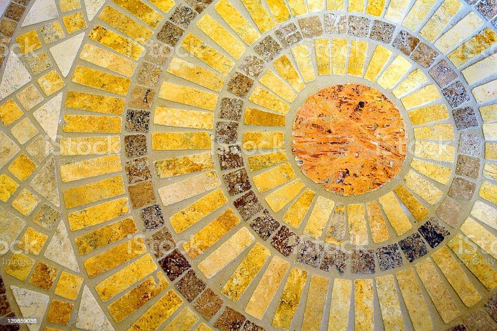 decorative tile royalty-free stock photo