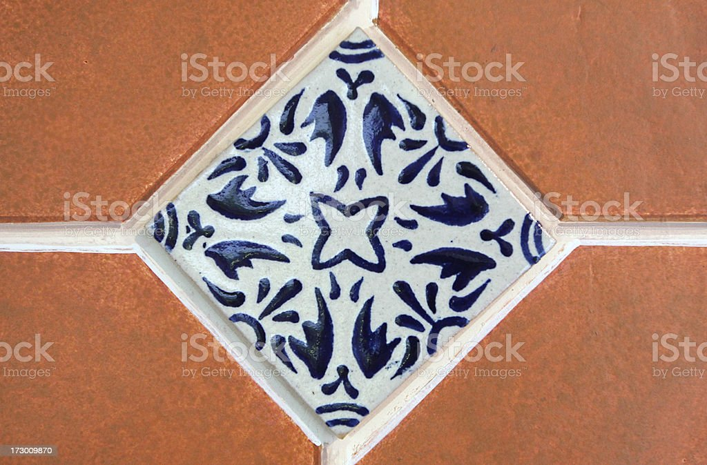 decorative tile royalty-free stock photo