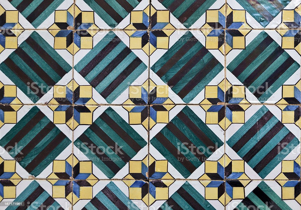 Decorative Tiles (Azulejos) royalty-free stock photo