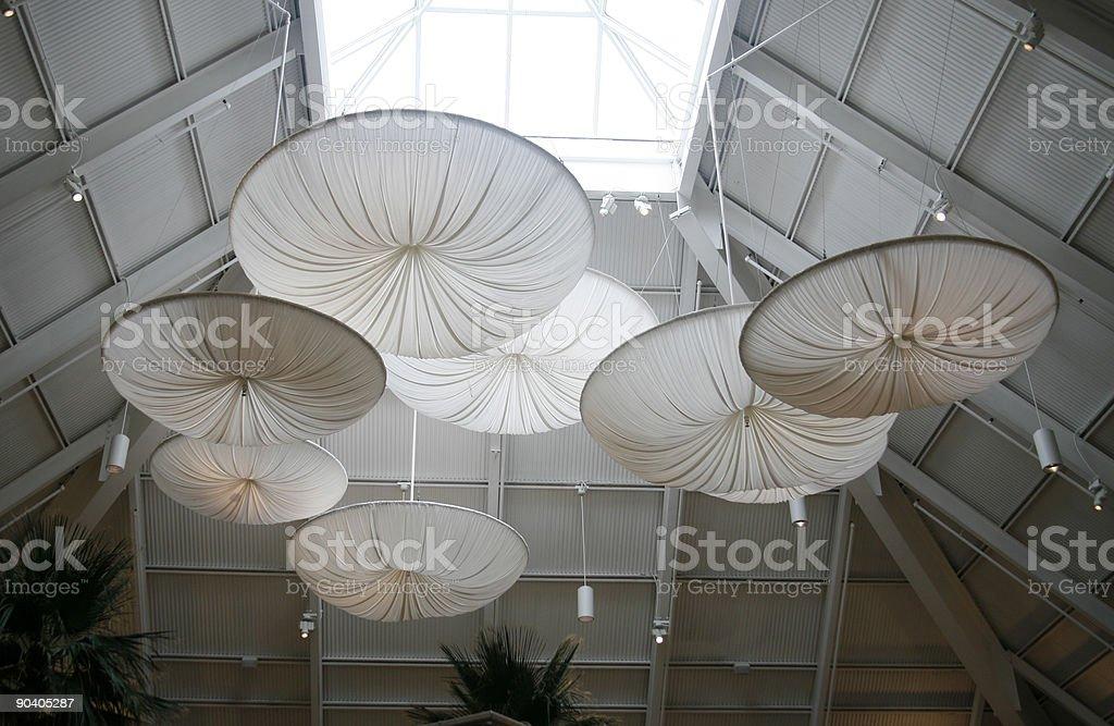 Decorative umbrellas stock photo