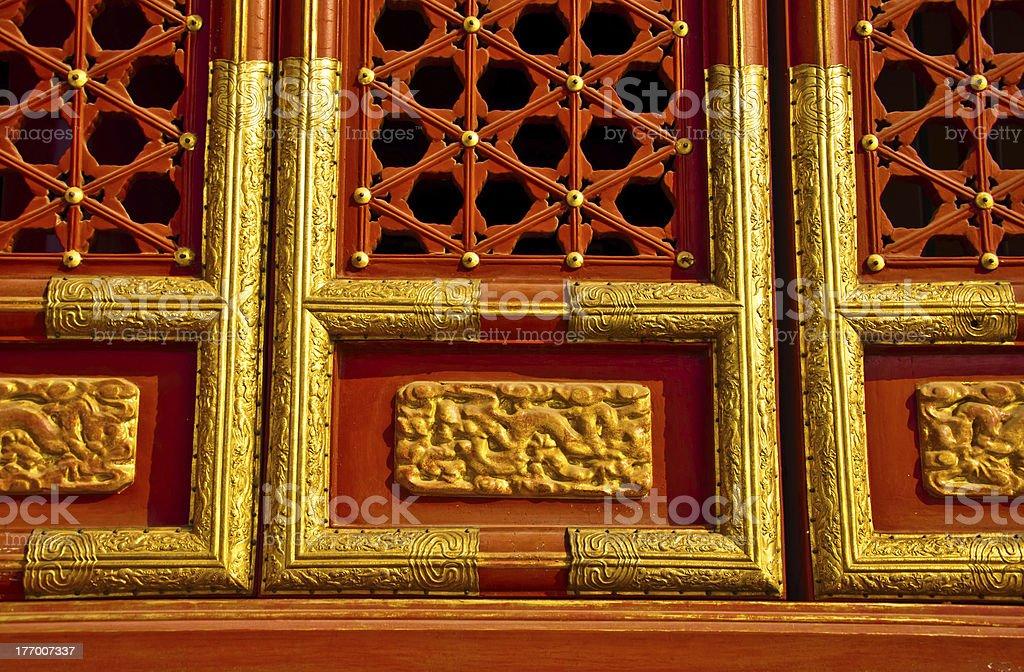 decorative wall panel stock photo