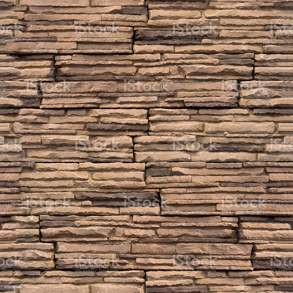 Decorative wall tiles - seamless background - stone pattern stock photo