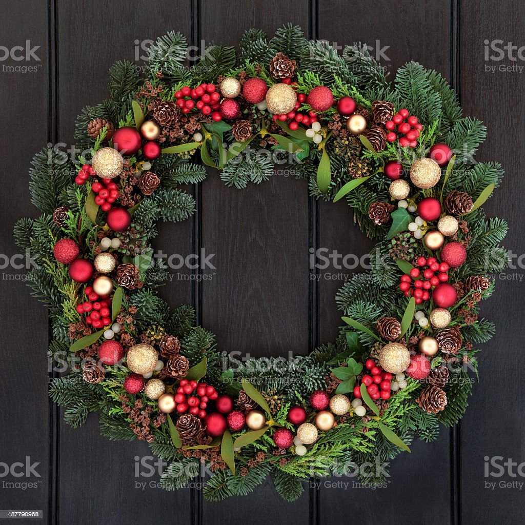 Decorative Wreath stock photo